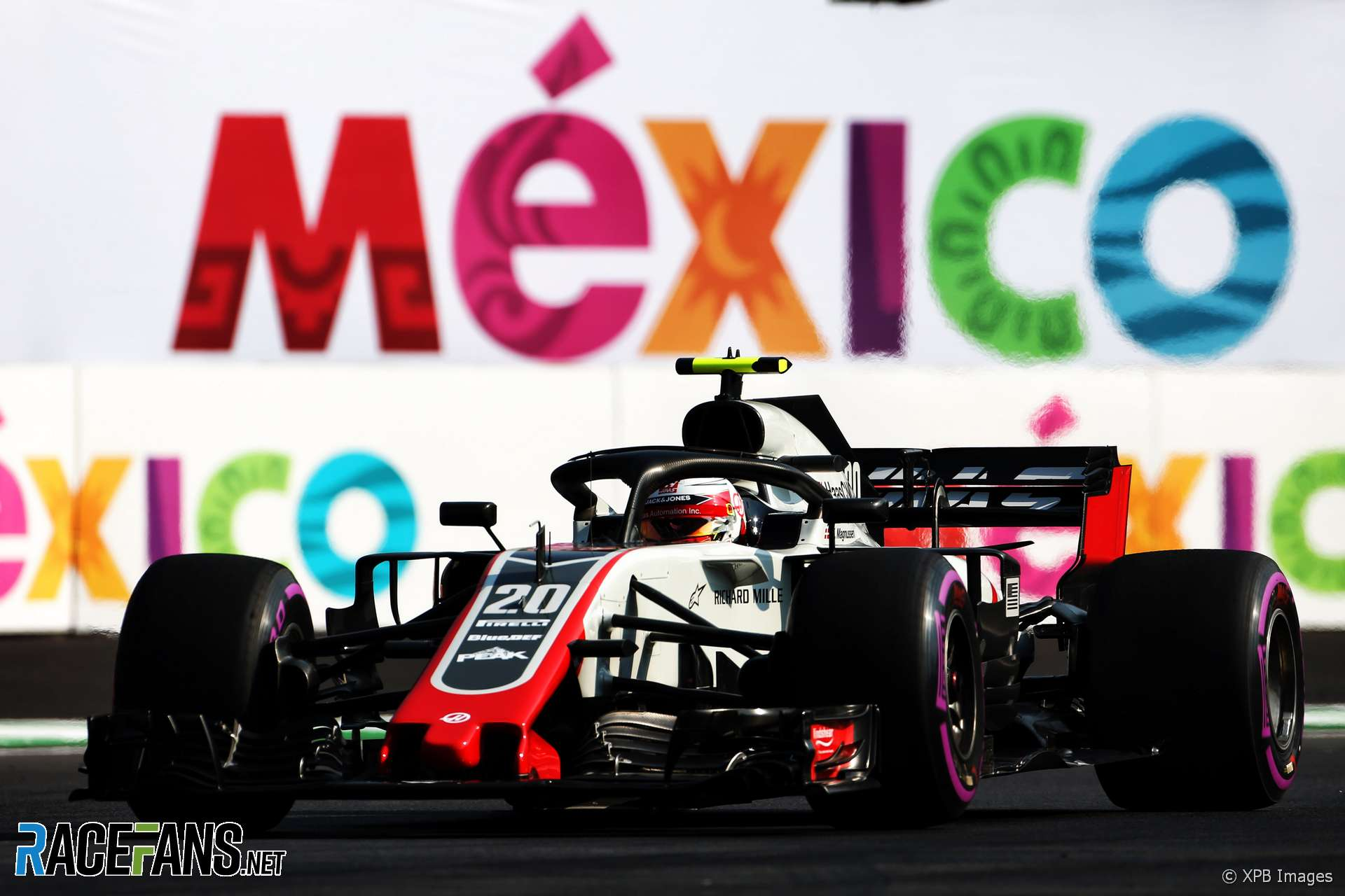 Kevin Magnussen, Haas, Autodromo Hermanos Rodriguez, 2018