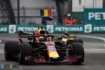 2018 Mexican Grand Prix grid