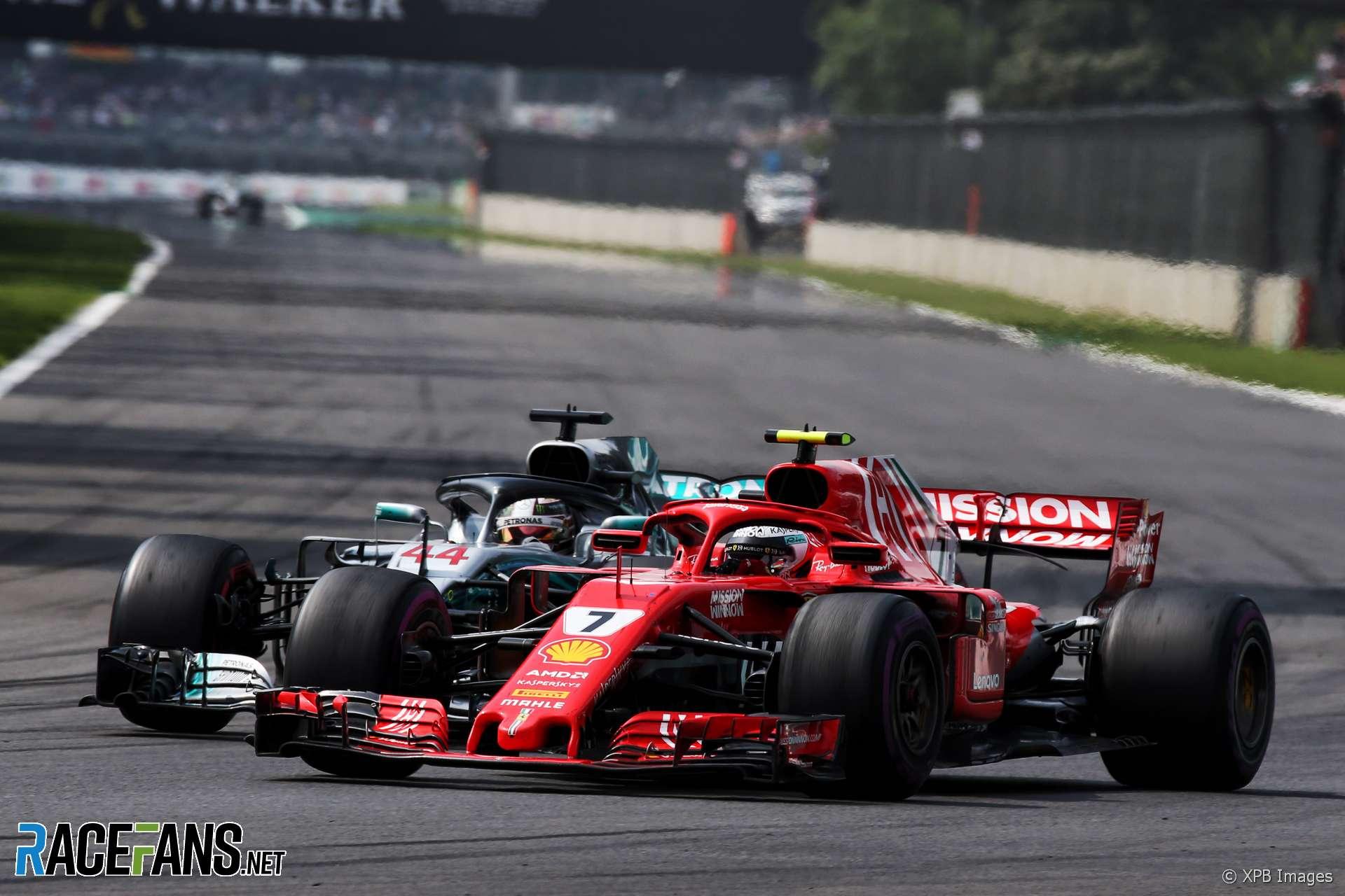 Kimi Raikkonen, Ferrari, Autodromo Hermanos Rodriguez, 2018