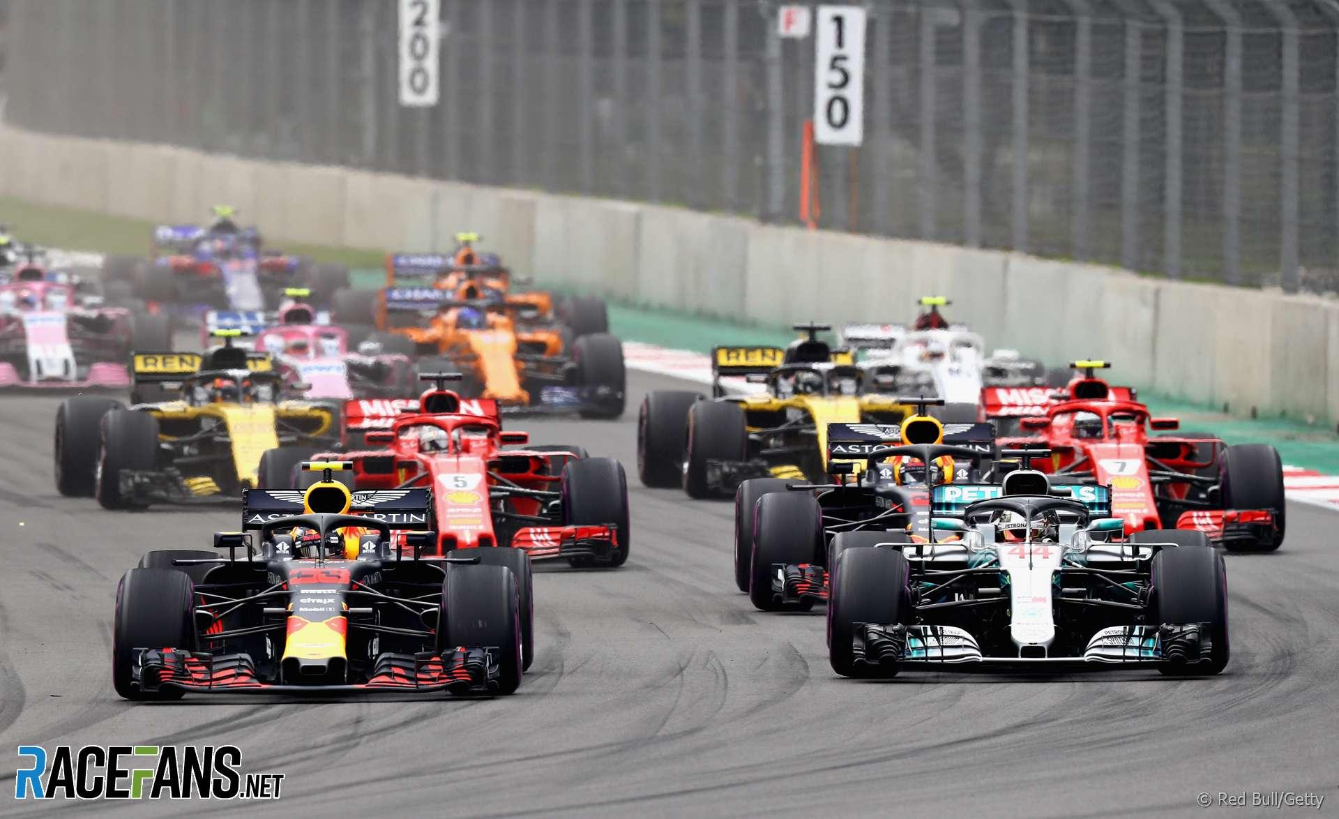 Start, Autodromo Hermanos Rodriguez, 2018
