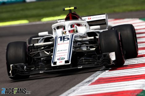 Charles Leclerc, Sauber, Circuit of the Americas, 2018