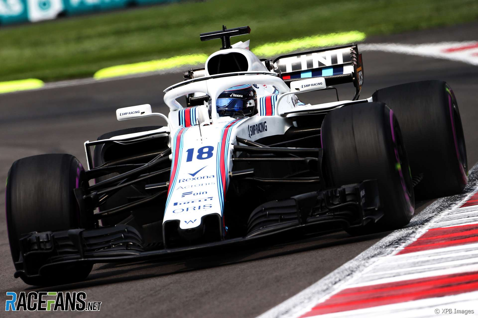 Lance Stroll, Williams, Circuit of the Americas, 2018
