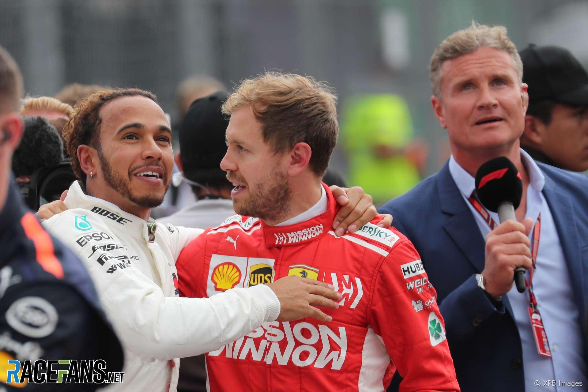 Lewis Hamilton, Sebastian Vettel, Autodromo Hermanos Rodriguez, 2018