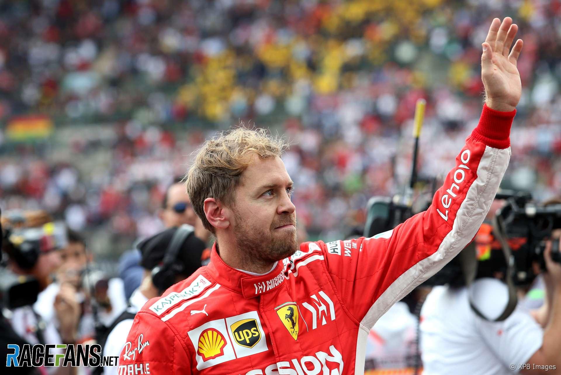 Sebastian Vettel, Ferrari, Circuit of the Americas, 2018