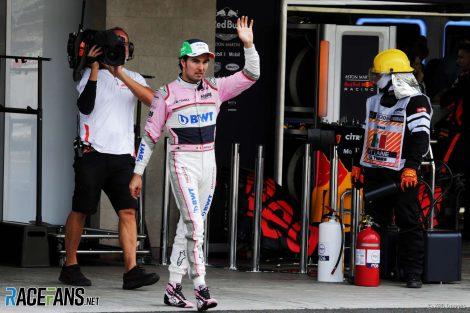 Sergio Perez, Force India, Circuit of the Americas, 2018