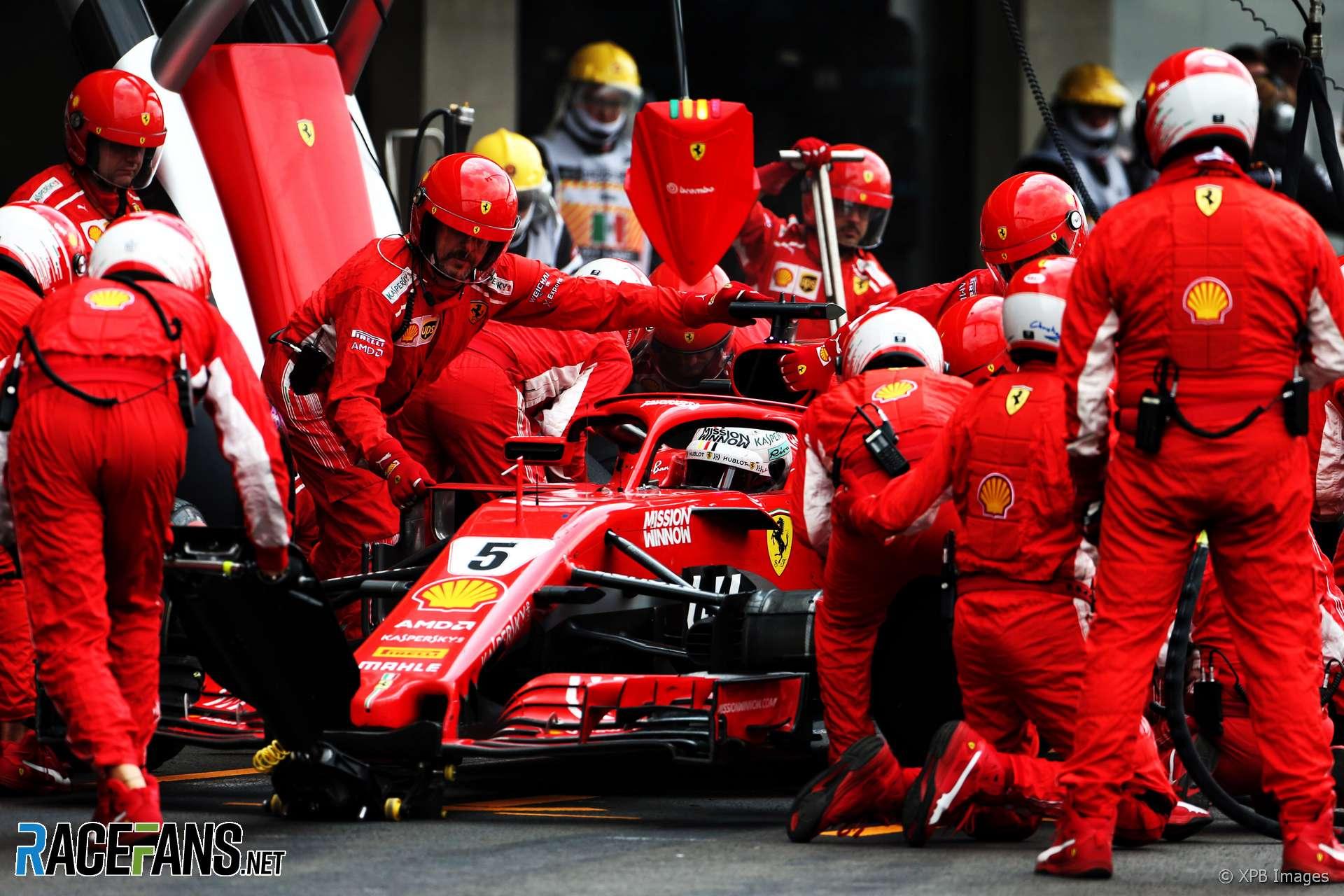 Sebastian Vettel, Ferrari, Autodromo Hermanos Rodriguez, 2018