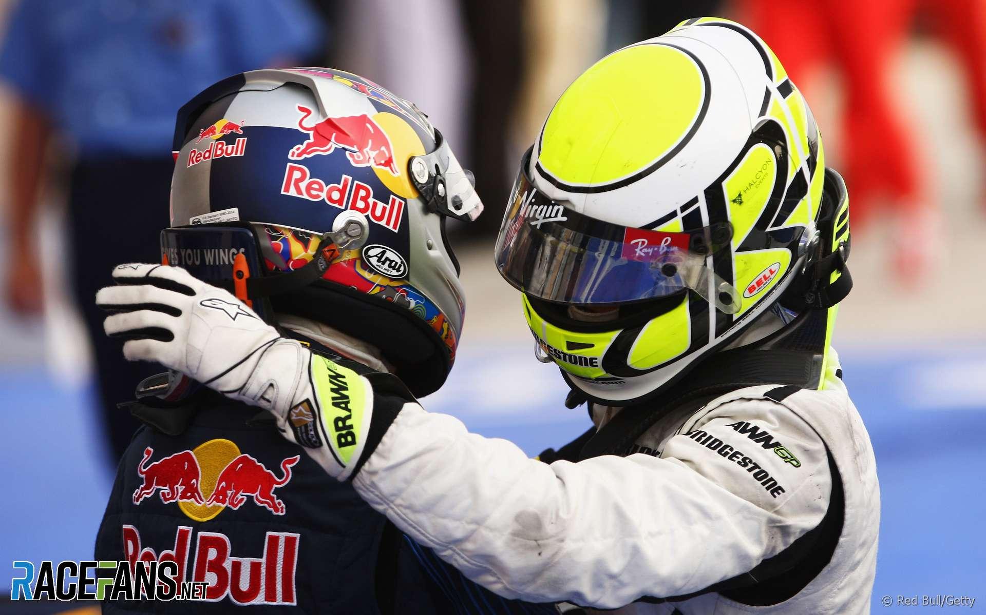 Jenson Button, Brawn, Bahrain, 2009