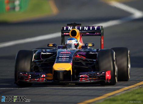 Sebastian Vettel, Red Bull, Melbourne, 2014