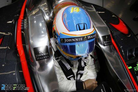 Fernando Alonso, McLaren, Shanghai, 2015