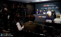 Press conference, Interlagos, 2018