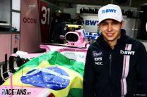 Esteban Ocon, Force India, Interlagos, 2018