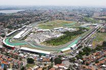 Rain may arrive too late to affect Brazilian GP