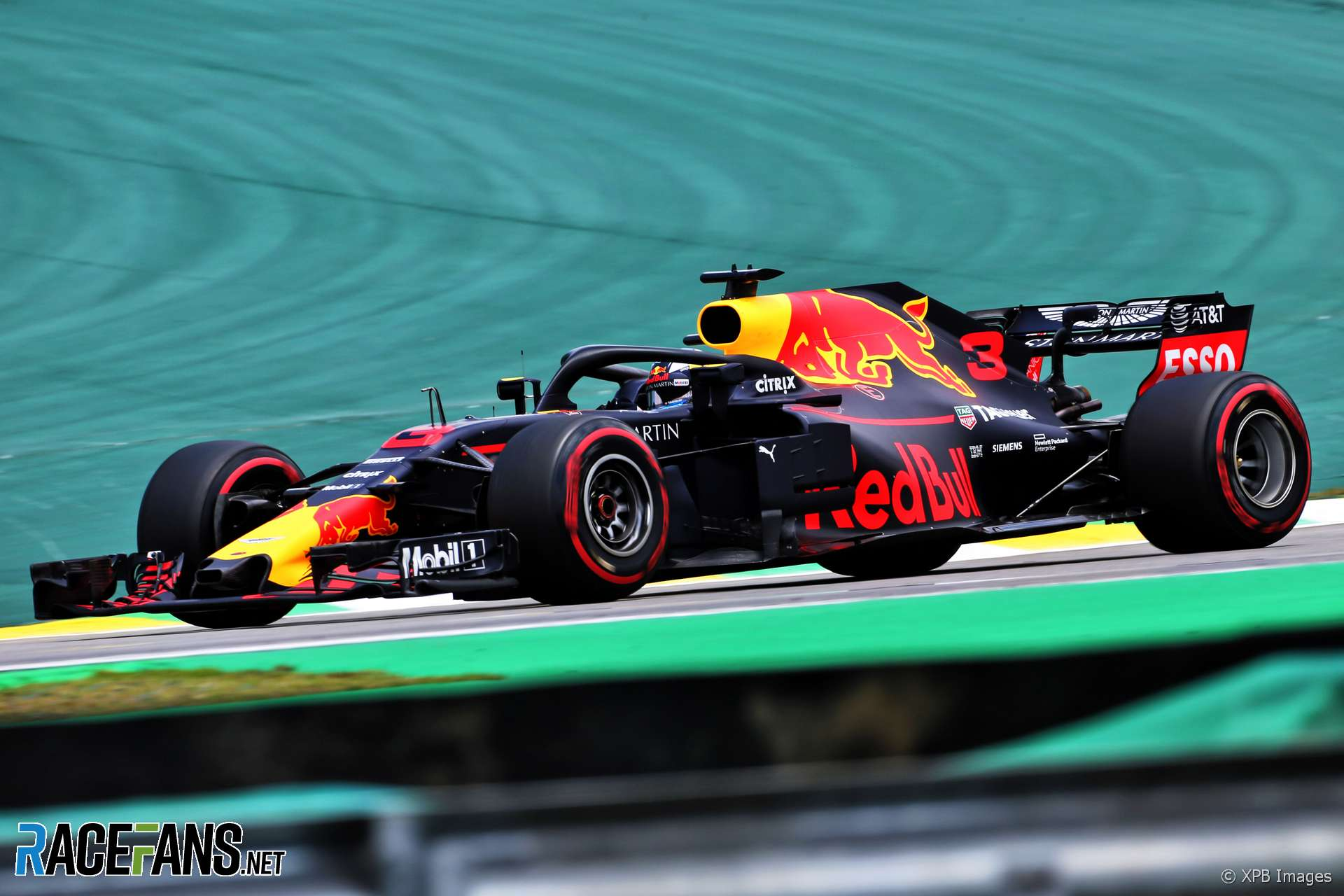 Daniel Ricciardo, Red Bull, Interlagos, 2018