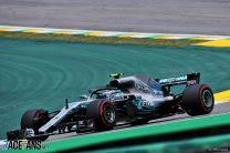 Bottas edges Hamilton by 0.003s in second practice