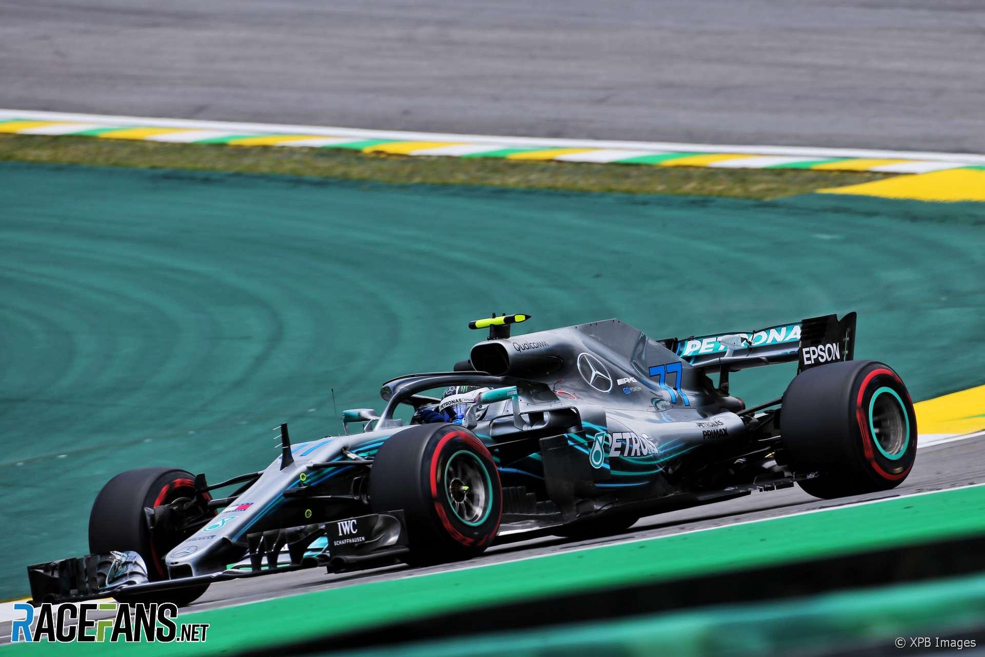 Valtteri Bottas, Mercedes, Interlagos, 2018
