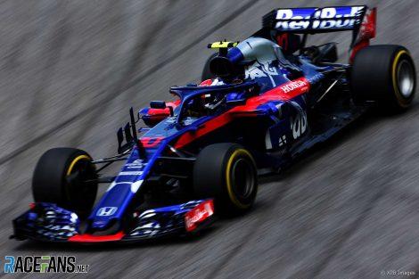 Pierre Gasly, Toro Rosso, Interlagos, 2018