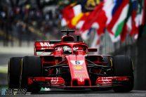 Vettel leads Hamilton and breaks Interlagos track record