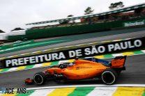 Fernando Alonso, McLaren, Interlagos, 2018