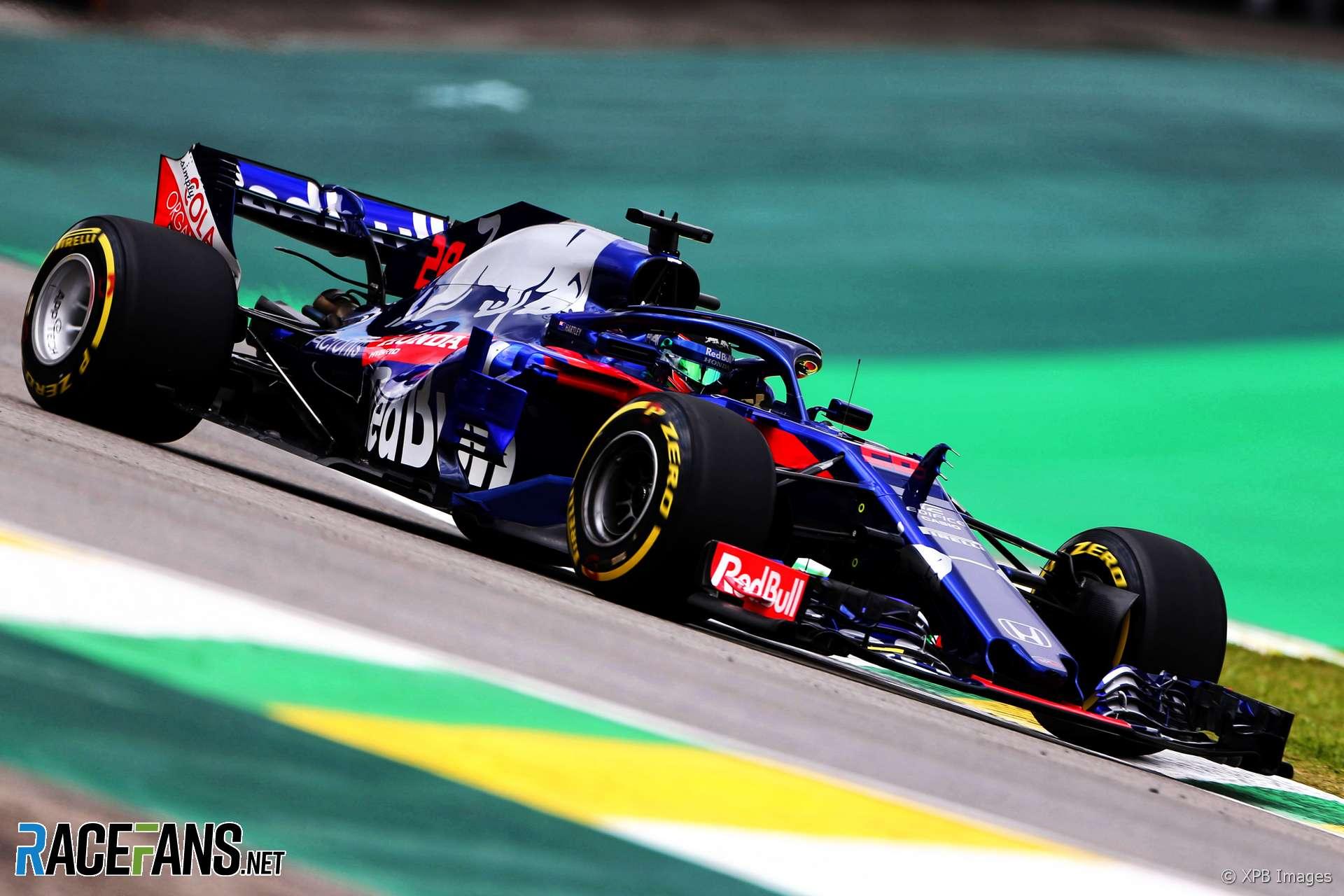 Brendon Hartley, Toro Rosso, Interlagos, 2018
