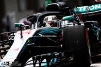 2018 Brazilian Grand Prix grid