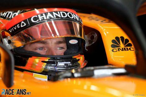 Stoffel Vandoorne, McLaren, Interlagos, 2018