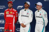 Controversy reigns as Hamilton beats frustrated Vettel to Brazil pole