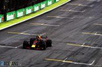 Max Verstappen, Red Bull, Interlagos, 2018