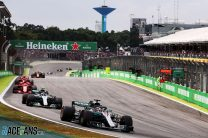 Mercedes clinch their fifth consecutive constructors' championship