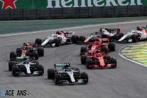 2018 Brazilian Grand Prix race result