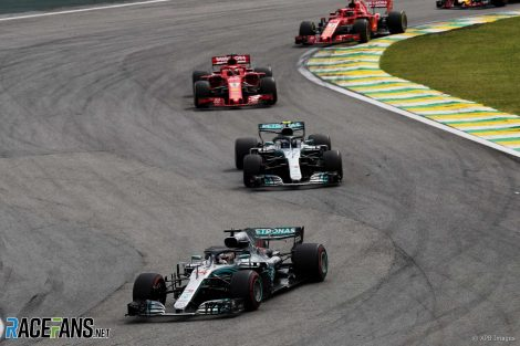 Lewis Hamilton, Mercedes, Interlagos, 2018