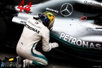Hamilton's engine was 'one lap away from failure'