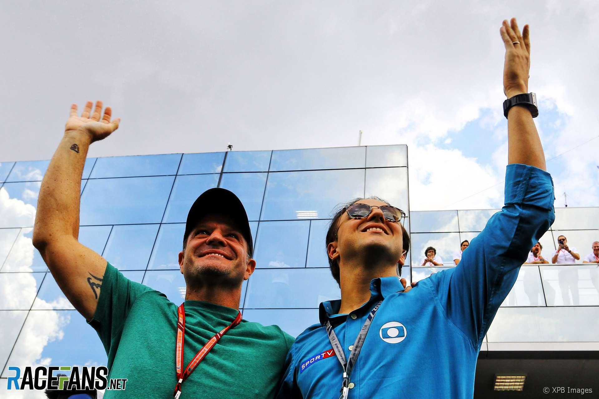 Rubens Barrichello, Felipe Massa, Interlagos, 2018