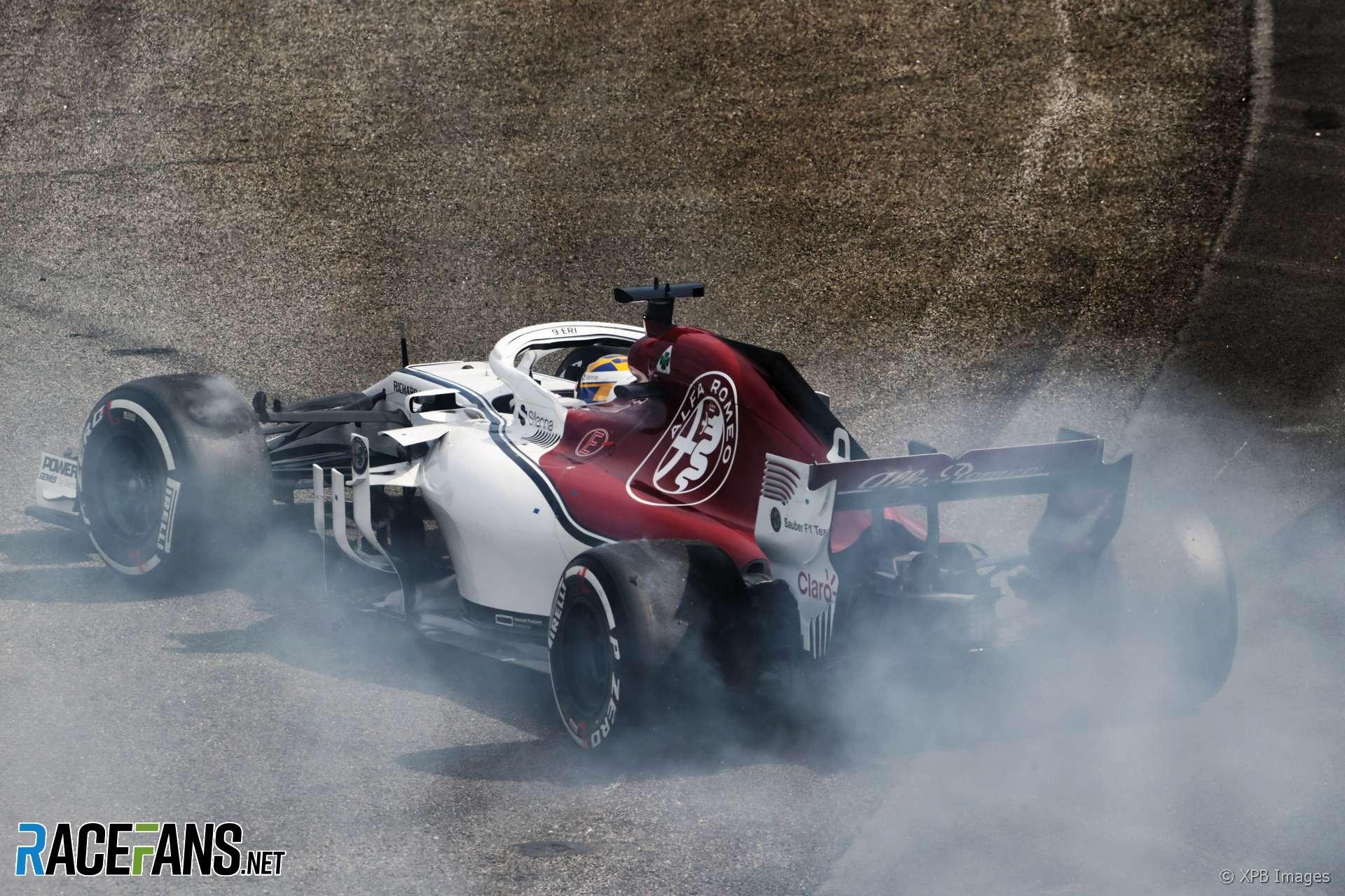 Marcus Ericsson, Sauber, Interlagos, 2018