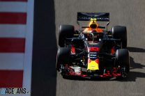 Verstappen leads Red Bull one-two in first practice