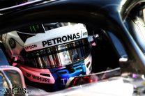 Bottas leads close second practice session