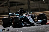 Hamilton on pole as Mercedes sweep front row for finale
