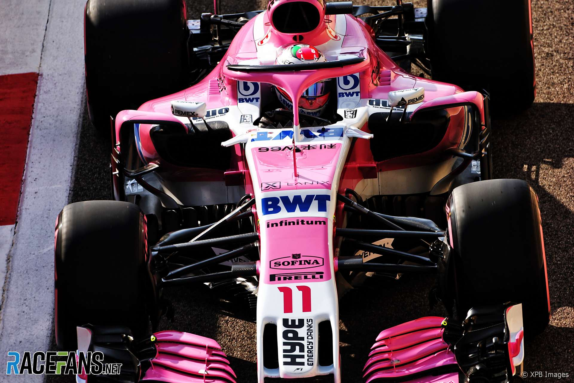 Sergio Perez, Force India, Interlagos, 2018