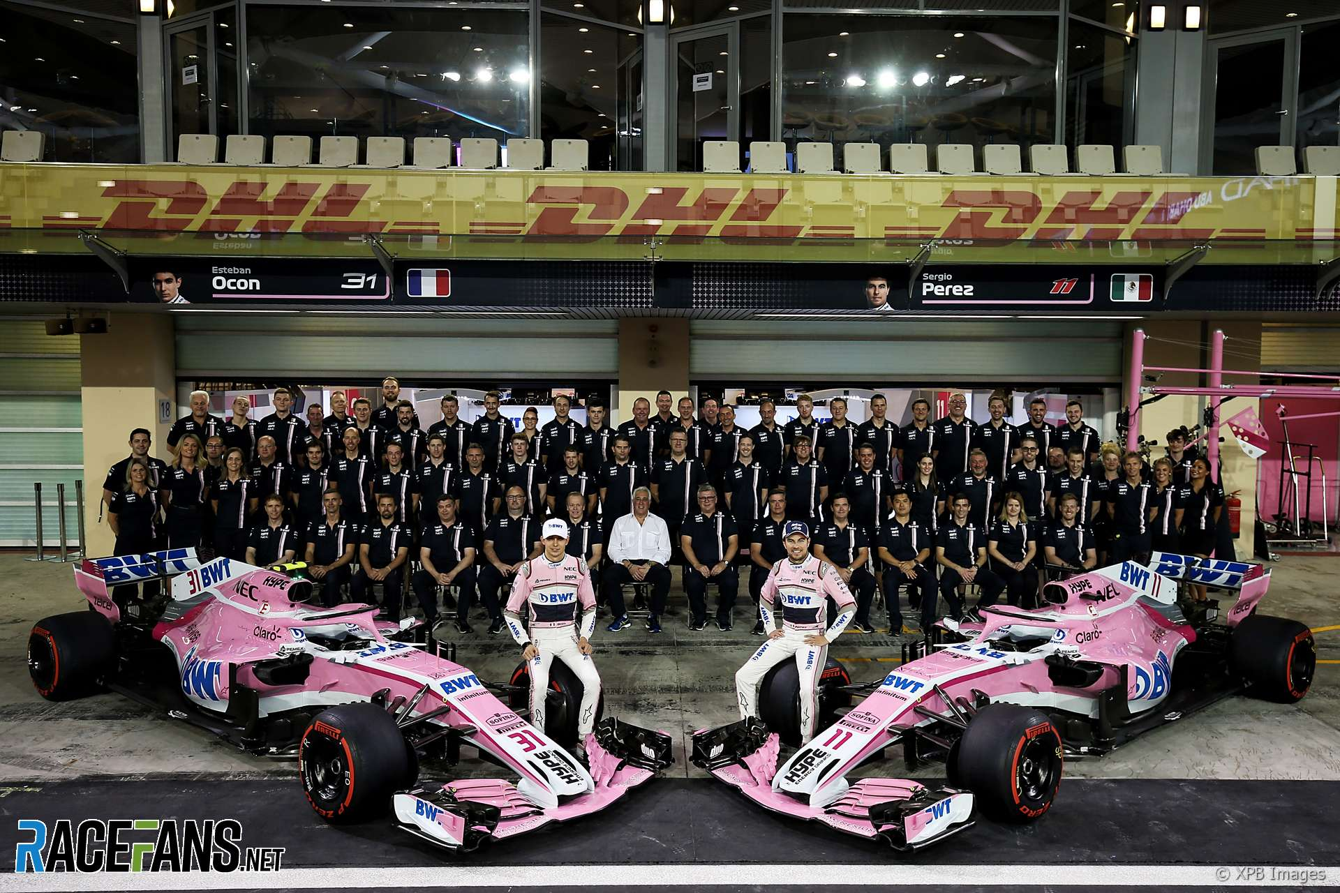 Force India F1 Team Information
