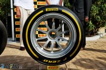 18-inch Pirelli tyre, Yas Marina, 2018