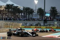 Hamilton wins ahead of Vettel and Verstappen in Abu Dhabi finale