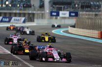 Esteban Ocon, Force India, Yas Marina, 2018