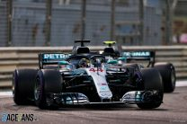 2018 Abu Dhabi Grand Prix race result
