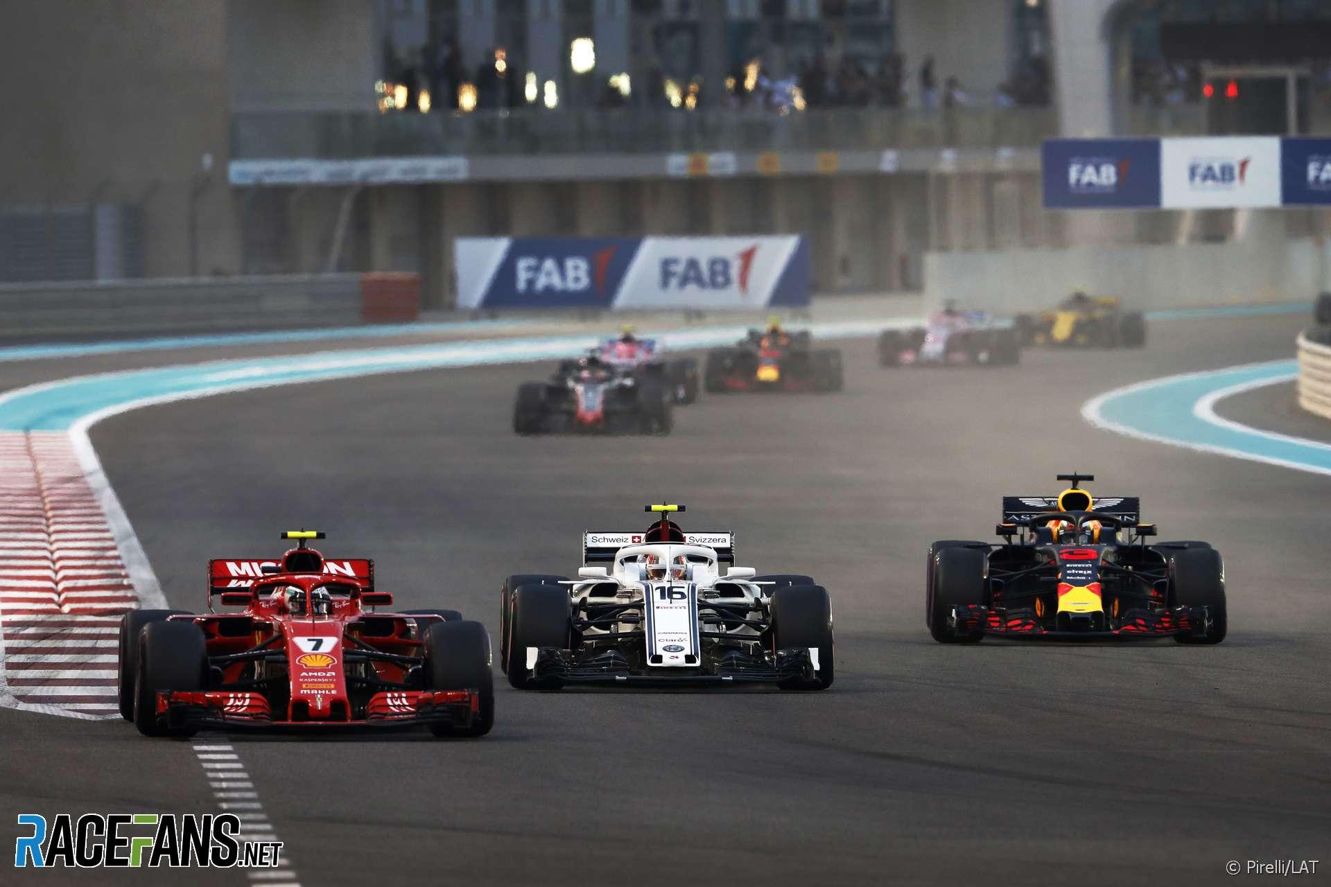 Kimi Raikkonen, Ferrari, Yas Marina, 2018