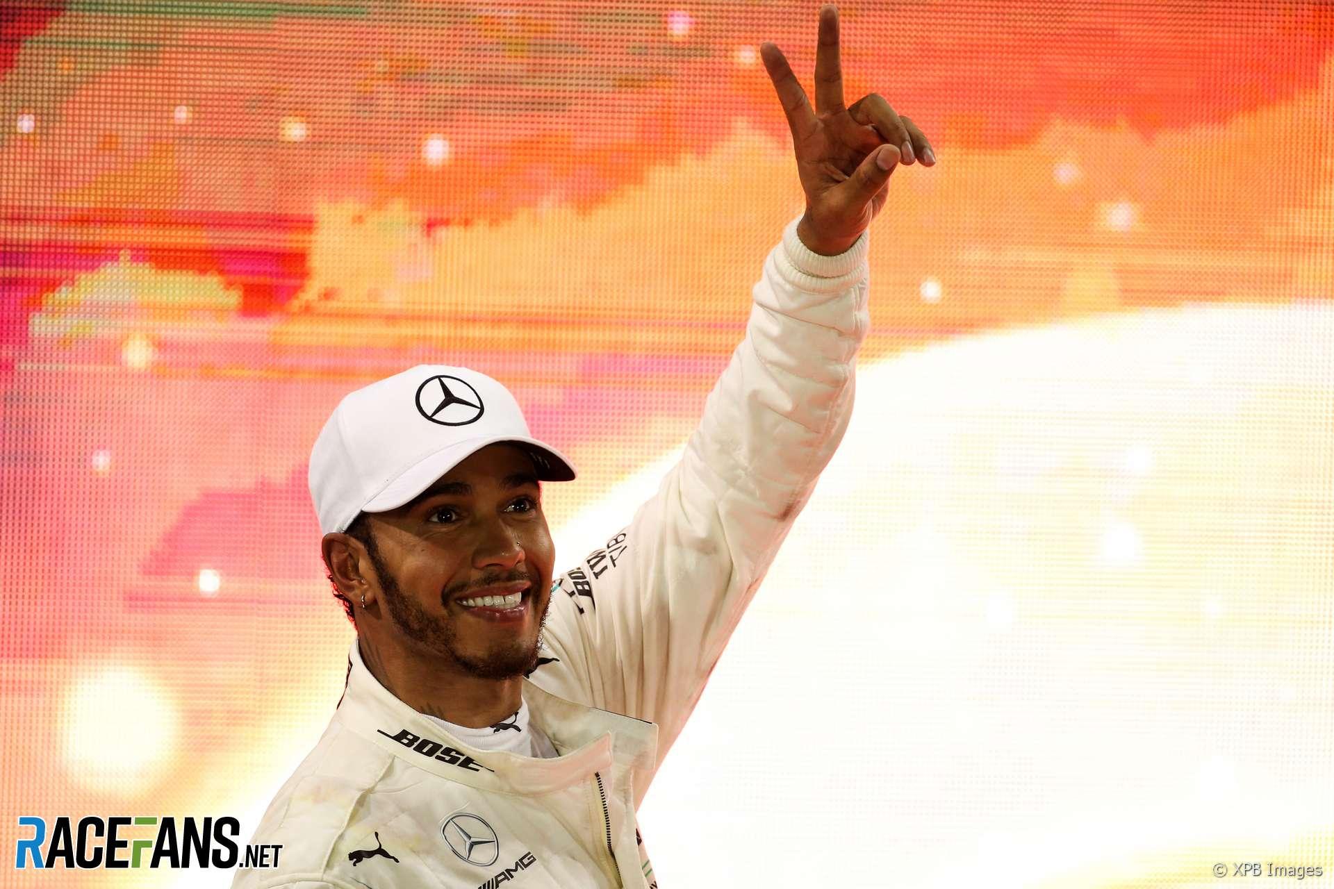 Lewis Hamilton, Mercedes, Yas Marina, 2018