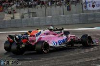 Esteban Ocon, Max Verstappen, Yas Marina, 2018
