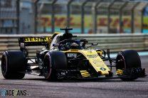 Nico Hulkenberg, Renault, Yas Marina, 2018