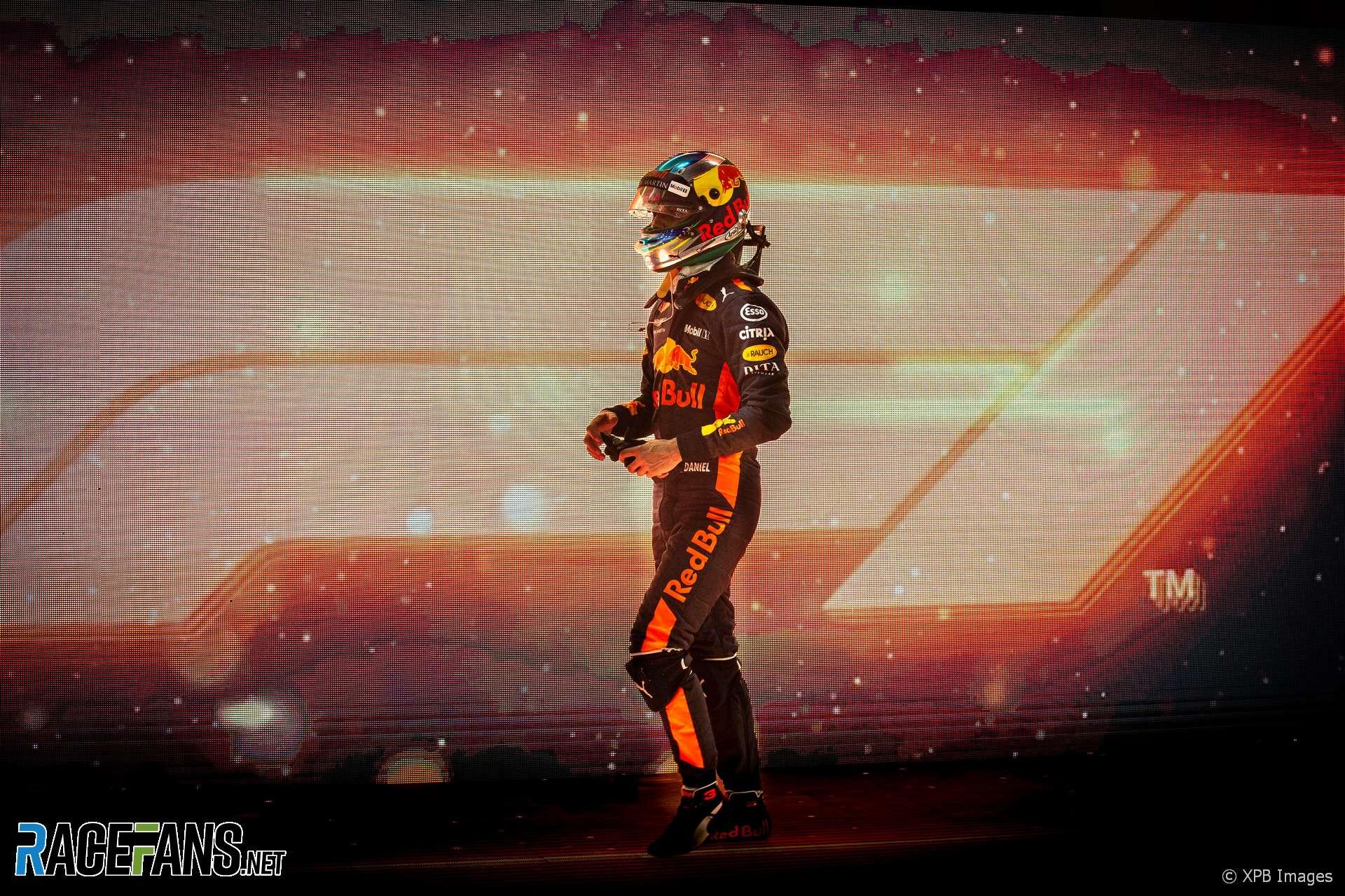 Daniel Ricciardo, Red Bull, Yas Marina, 2018