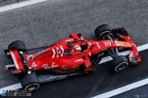 Vettel leads Bottas and Stroll on test day one