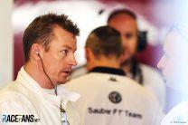 Kimi Raikkonen, Sauber, Yas Marina