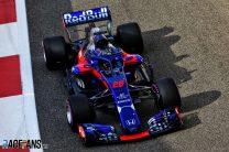 Daniil Kvyat, Toro Rosso, Yas Marina